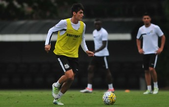 Recuperado de lesão, Léo Cittadini volta a ficar à disposição no Santos