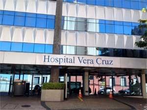 Fachada do Hospital Vera Cruz, em Campinas (Foto: Anaísa Catucci/G1 Campinas)