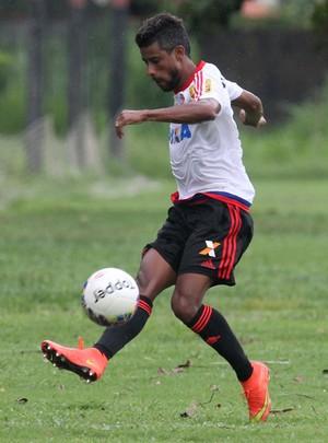 Léo Moura, Flamengo treino (Foto: Gilvan Souza/Flamengo)