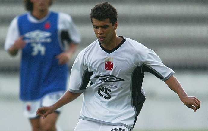Coutinho treino Vasco (2004) (Foto: Agência O Globo)