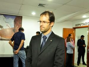 O procurador da República, Willian Rocha Assis, propôs ação ao MPF a pedido de grupos de comunidades tradicionais do Vale do Araguaia em MT (Foto: Amanda Sampaio/G1 MT)