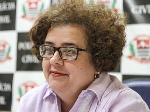 Delegada da DDM de Araraquara Meirelene de Castro Rodrigues (Foto: Amanda Rocha/Tribuna)
