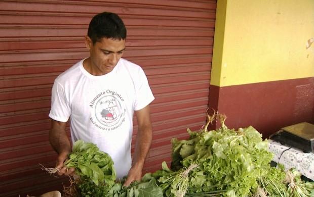 Feira de produtos orgânicos atrai consumidores de Boa Vista (Foto: Roraima TV)