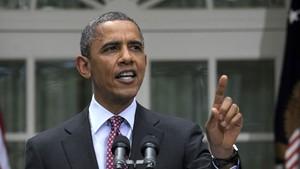 O presidente dos EUA, Barack Obama, anuncia as mudanças na política de deportação nesta sexta-feira (15) na Casa Branca (Foto: AP)