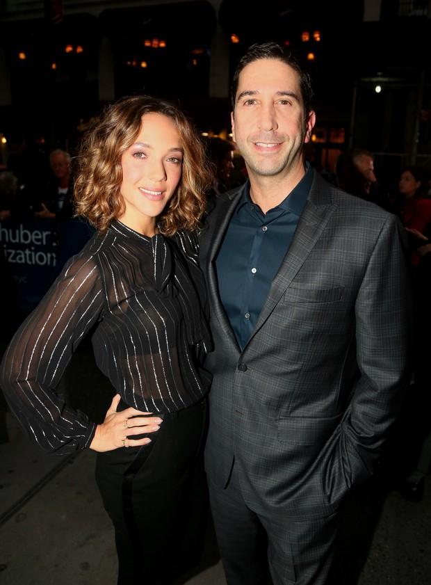 Zoe Buckman e David Schwimmer (Foto: Getty Images)