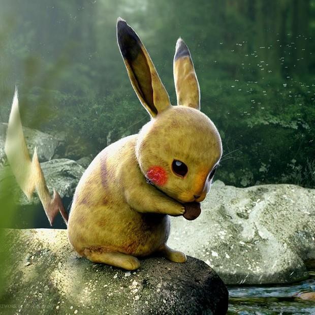 Pikachu (Foto: Reprodução/Joshua Dunlop)