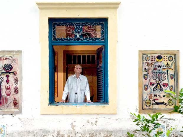 O escritor Ariano Suassuna será homenageado na Bienal  (Foto: Alexandre Nóbrega/divulgação)