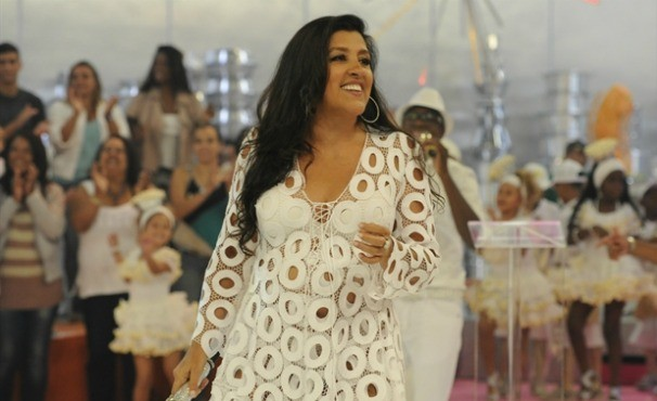 Regina Casé  (Foto: TV Globo/Estevam Avellar)