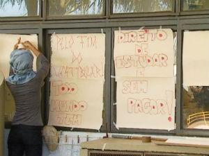 Ocupação Unesp 3 (Foto: Felipe Lazzarotto/ EPTV)