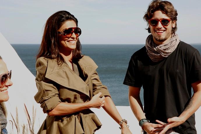 Daniel Rocha e Juliana Paes em Casa Pueblo (Foto: Chico Couto / Gshow)