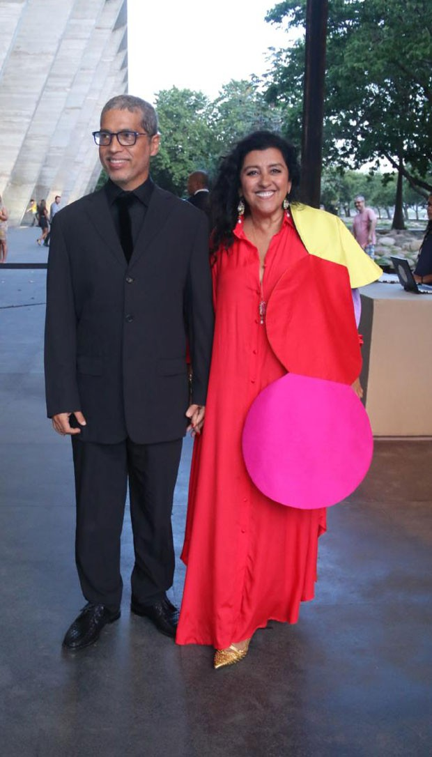 Regina Casé e Estevão Ciavatta (Foto: AgNews / Daniel Pinheiro)