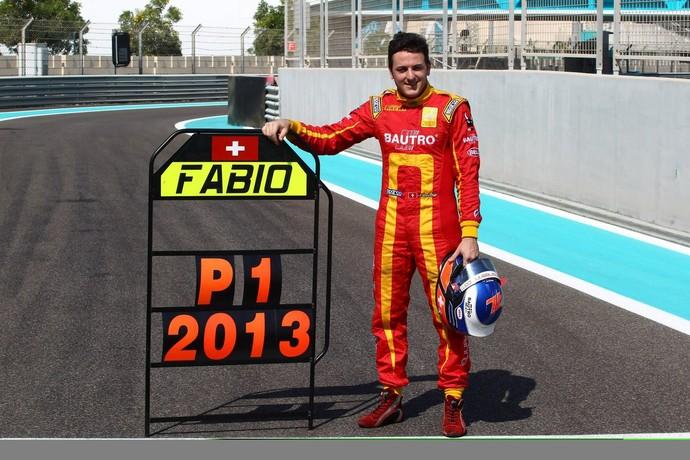 Campeão da GP2 em 2013, Leimer já passou pela Formula Renault 2.0 and Formula BMW ADAC. (Foto: Reprodução)