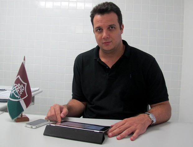 Sandro Lima Fluminense (Foto: Rafael Cavalieri / Globoesporte.com)