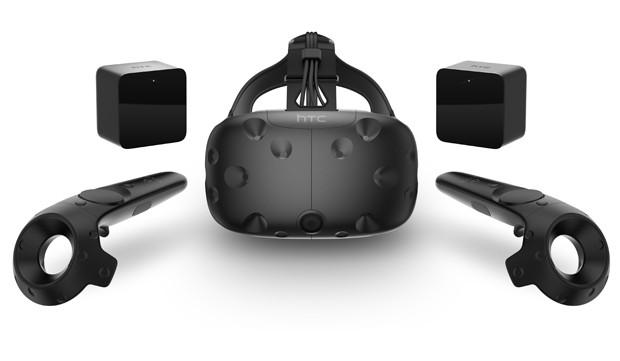 Vive é óculos de realidade virtual fabricado pela HTC em parceria com a Valve (Foto: Divulgação/Vive)
