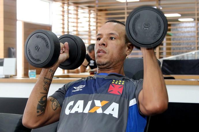 Luis Fabiano Vasco (Foto: Paulo Fernandes/Vasco.com.br)