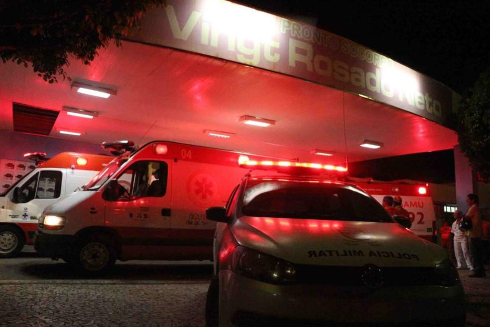 Crime aconteceu na madrugada deste sábado (6) em Mossoró (Foto: Marcelino Neto/O Câmera)