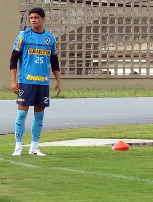 Treino do Botafogo, Renato (Foto: Thales Soares / Globoesporte.com)