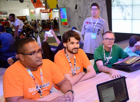 TechTudo recebe campuseiros criadores de apps na Campus Party
