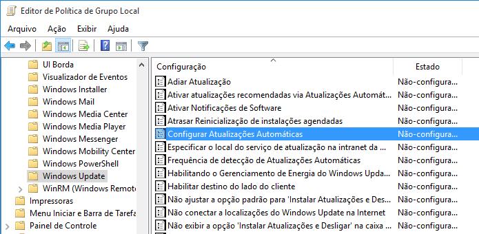 Atualizações automáticas podem ser desabilitadas no Windows 10 (Foto: Reprodução/Helito Bijora)