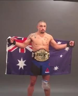 Robert Whittaker UFC 213 (Foto: Reprodução Internet)