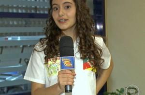Última finalista, Yasmin dispara: 'Eu estudei, eu realmente sabia' (Caldeirão do Huck/ TV Globo)