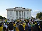 Ato contra Dilma e Lula no Acre reúne manifestantes no Centro da capital