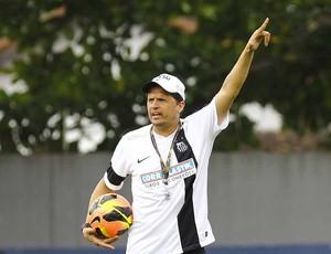 Claudinei Oliveira, treinador do Santos (Foto: Ricardo Saibun/Divulgação Santos FC)