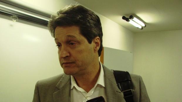 Eduardo Bonini, presidente da futura Organização Social (Foto: Filipe Rodrigues/ Globoesporte.com)