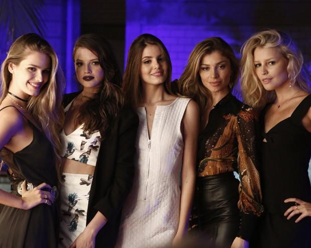 Grazi será modelo na agência de Fanny Richard, junto com as atrizes Camila Queiroz, Yasmin Brunet e Rhais Batista  (Foto: Inácio Moraes/ Gshow)