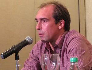 Paulo Baier meia Atlético-PR Criciúma (Foto: Fernando Freire)