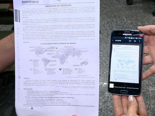 Polícia Federal investiga suposto vazamento na prova de redação do Enem - GNews (Foto: Reprodução/GloboNews)