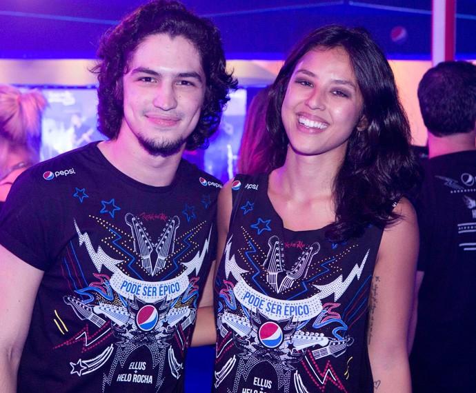 Yanna Lavigne e Gabriel Leone (Foto: Felipe Monteiro / Gshow)