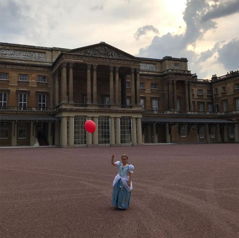 Princesa: o aniversário de 6 anos de Harper Beckham  (Foto: Reprodução/Instagram)