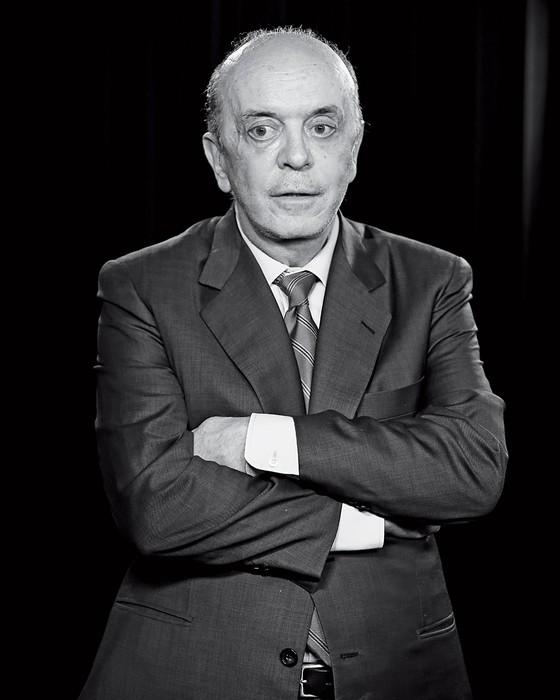 O senador José Serra (Foto: Sergio Lima/Folhapress)