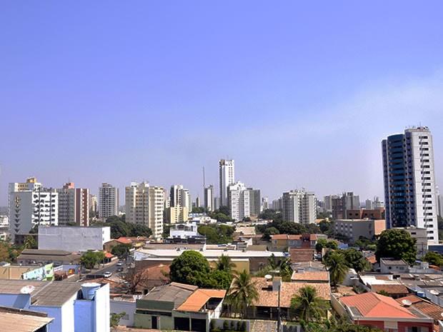 Agosto termina com o registro de chuva abaixo da média dos últimos 30 anos, na capital  (Foto: Leandra Ribeiro/G1 MT)