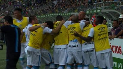 Os gols de Palmeiras 1 x 1 Grêmio pelas quartas de final da Copa do Brasil