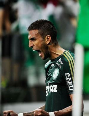 Palmeiras x Bragantino - gol Rafael Marques (Foto: Marcos Ribolli)