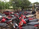 PRF faz operação em quatro cidades e apreende 100 motos no Sul do Piauí