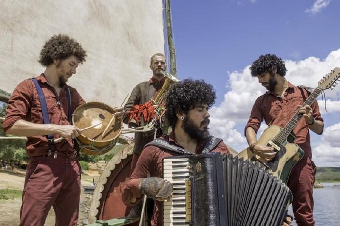 Coutto Orchestra na Expedição VOGA, um projeto de imersão cultural  (Foto: Arquivo/Expedição Voga)