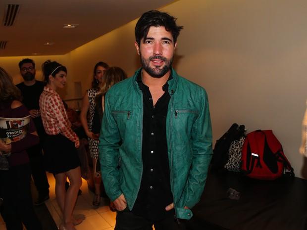 Sandro Pedroso em estreia de musical em São Paulo (Foto: Manuela Scarpa e Marcos Ribas/ Foto Rio News)
