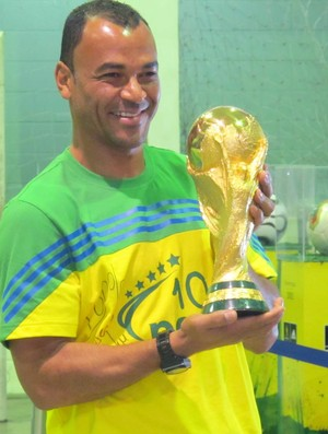 cafu taça copa do mundo (Foto: Leandro Canônico / Globoesporte.com)