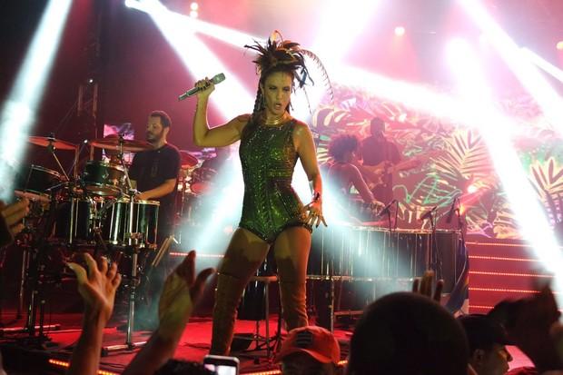 Ivete Sangalo em show no Recife, em Pernambuco (Foto: Marcelo Loureiro/ Ag News)