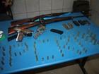 Quadrilha é presa com armas e munição no interior do RN