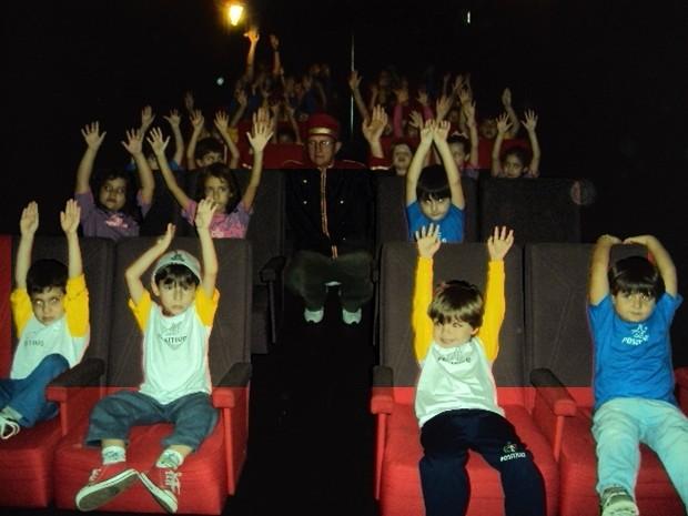 Cinema Móvel percorre cidades de diversos estados  (Foto: Divulgação)