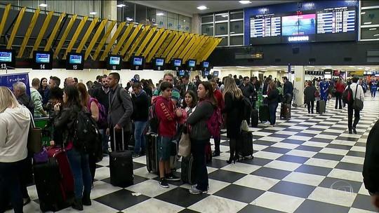 Nevoeiro cancela 45 voos no Santos Dumont, no Rio
