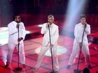 Lulu, Gabriel e Marquinho matam a saudade no palco do The Voice Brasil