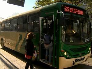 UFJF ônibus (Foto: Reprodução/TV Integração)