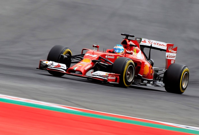 Fernando Alonso Ferrari gp da Áustria (Foto: Agência Reuters)
