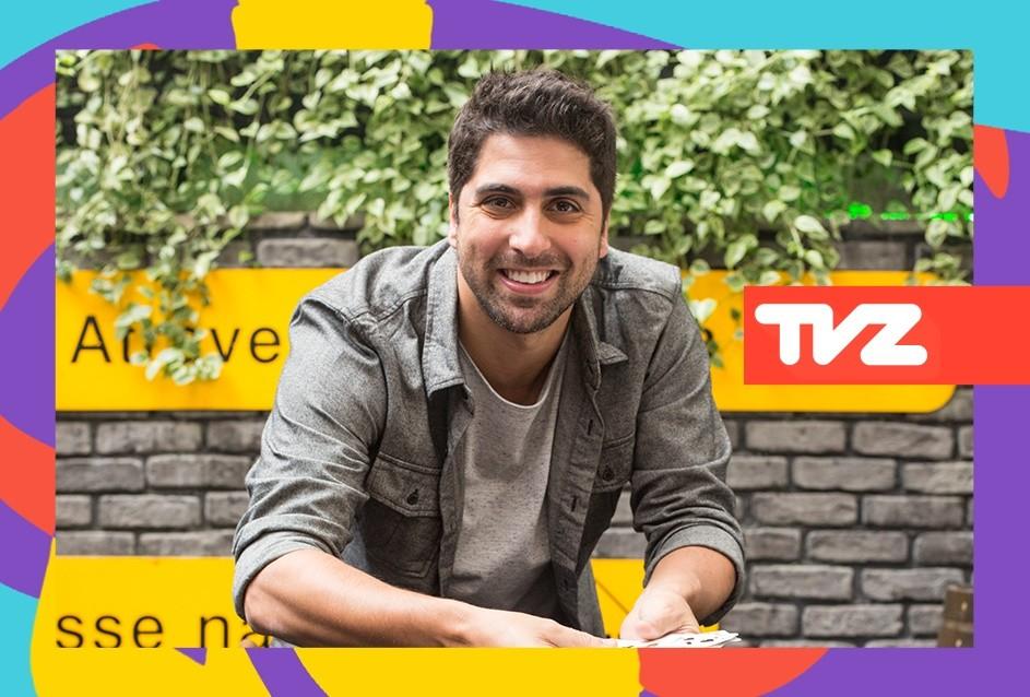Gabriel Louchard apresenta o TVZ Ao Vivo nesta quarta (16), s 19h (Foto: Divulgao/Multishow)
