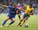 Leicester e Arsenal empatam sem gols e seguem sem vitórias no Inglês